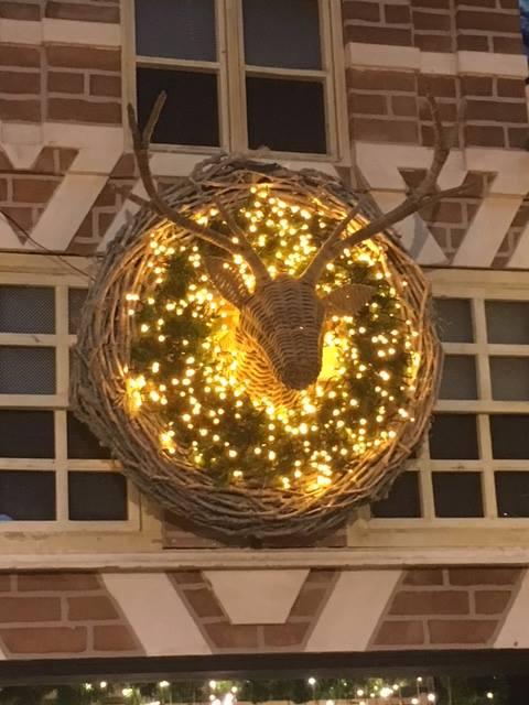 Originele kerstverlichting voor buiten nabij Roermond