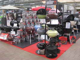 Outletverkoop Weber barbecues