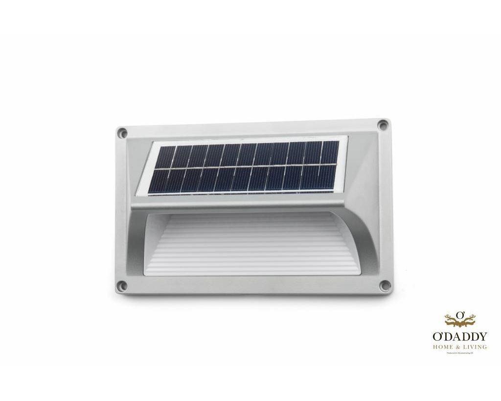 Solar Wandlamp Tuin : O daddy solar wall light small castor tuinverlichting