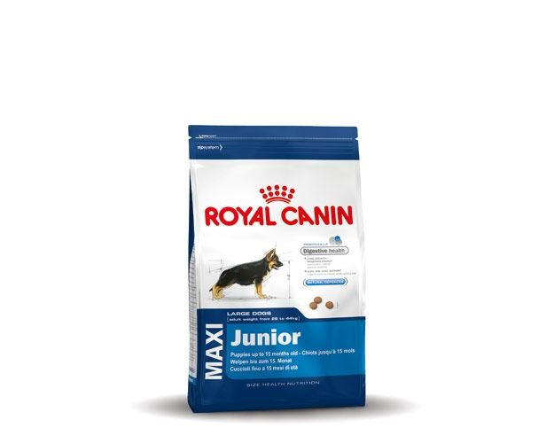 royal canin maxi junior 4 kg hondenvoer tuincentrum dani ls. Black Bedroom Furniture Sets. Home Design Ideas
