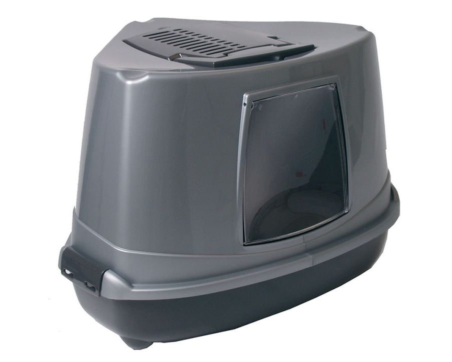 Hoektoilet cozy corner grijs antraciet toilet verzorging