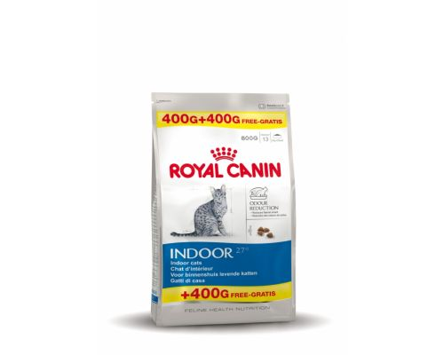 Royal Canin Indoor 400 + 400 g