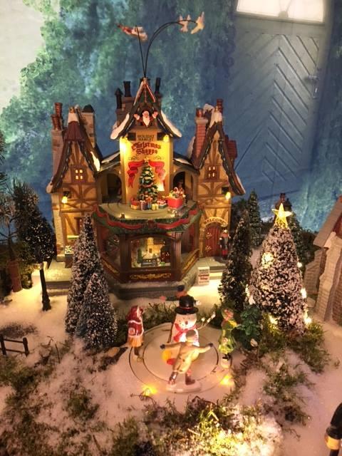 Kerstshow in Limburg met Lemax