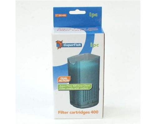 SuperFish Aquaflow 400 easy click cartridges